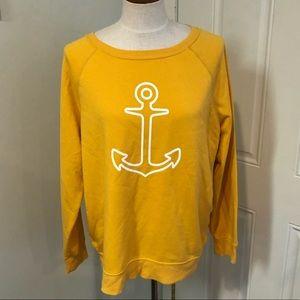 Goldenrod yellow abhor sweater sweatshirt